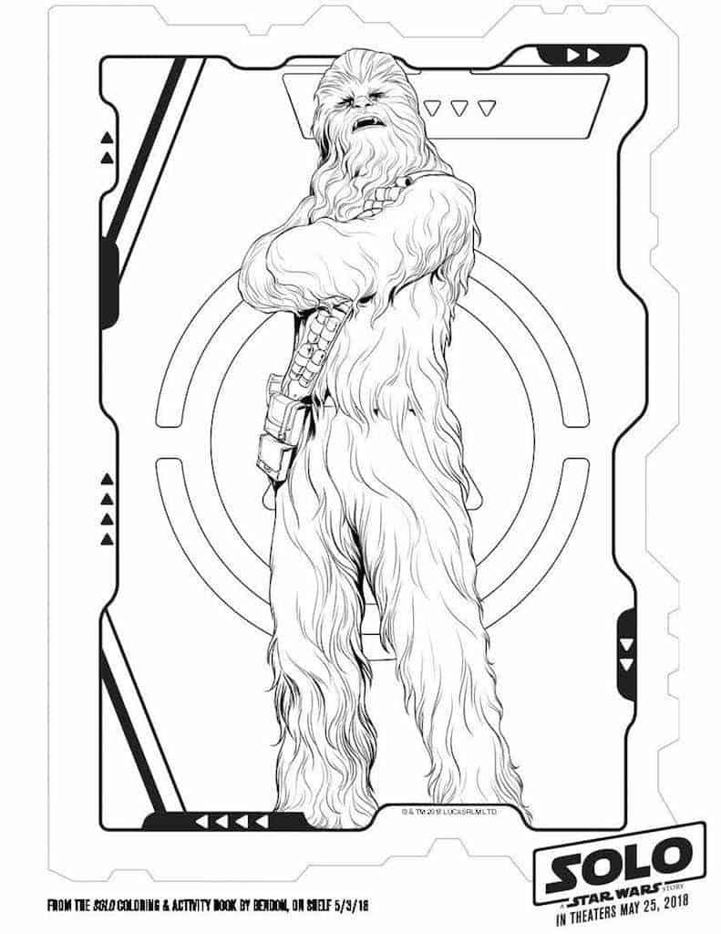 9 Star Wars Solo Free Printable Activity Sheets
