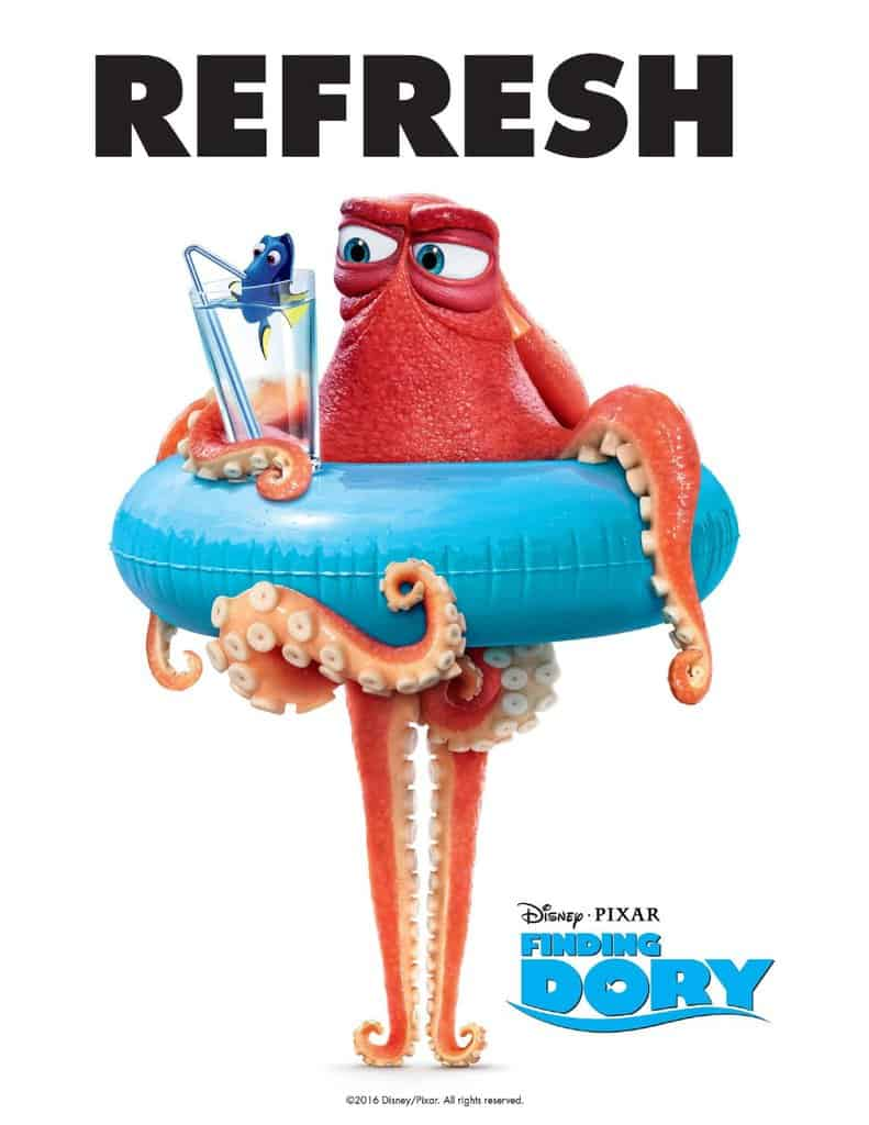 19 Free Printable Finding Dory Party Printable