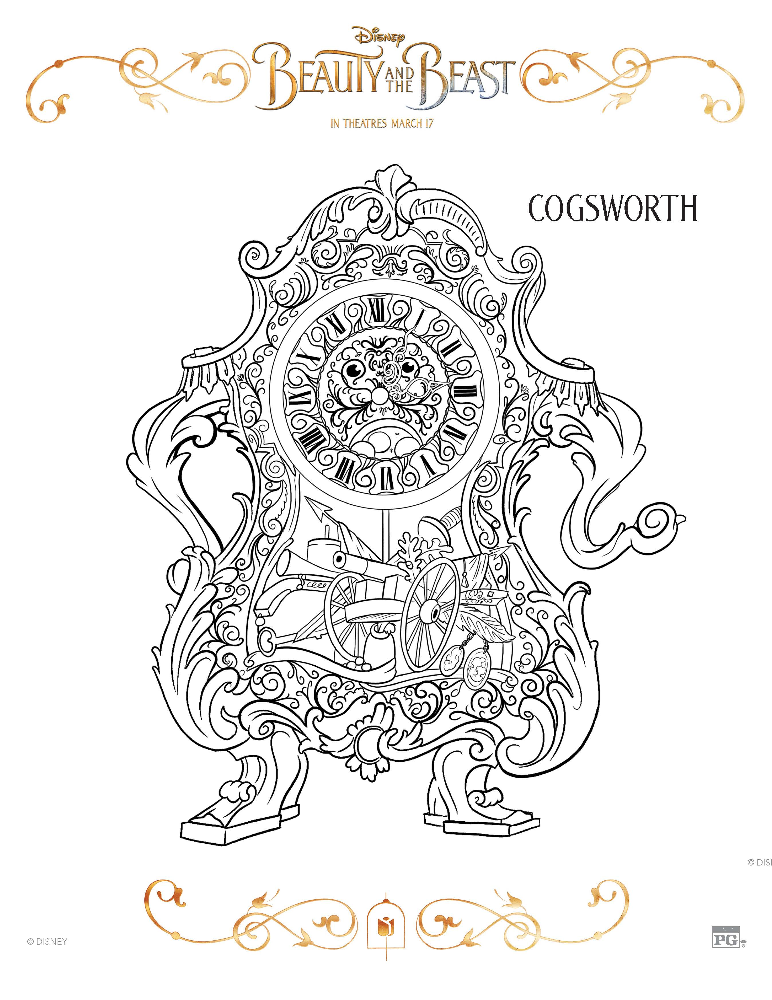 graphic regarding Beauty and the Beast Printable Coloring Pages titled 10 Attractiveness and the Beast Cost-free Printable Coloring Internet pages