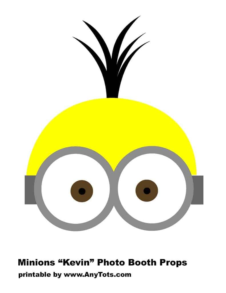 Minions Free Printable Photo Booth Props