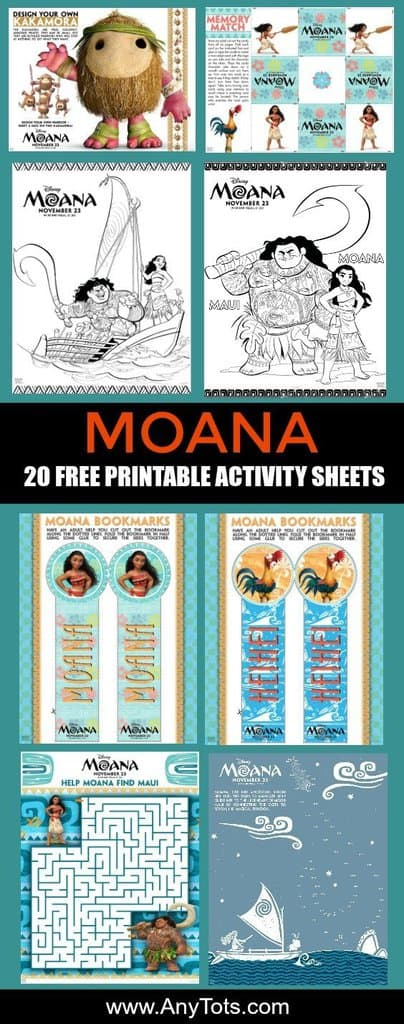 101 Disney Moana Birthday Party Ideas