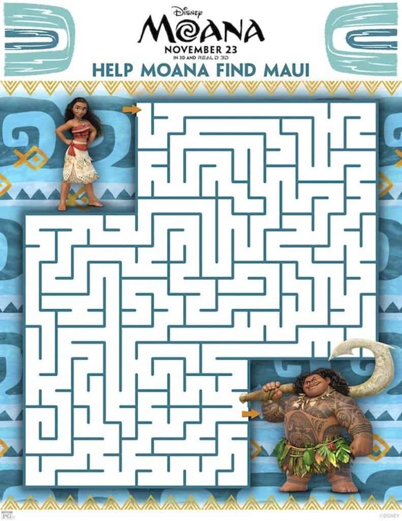 image regarding Printable Moana known as 23 Moana Free of charge Printable Coloring Web pages Match Sheets