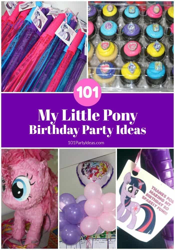 MY LITTLE PONY PARTY FAVOR IDEA