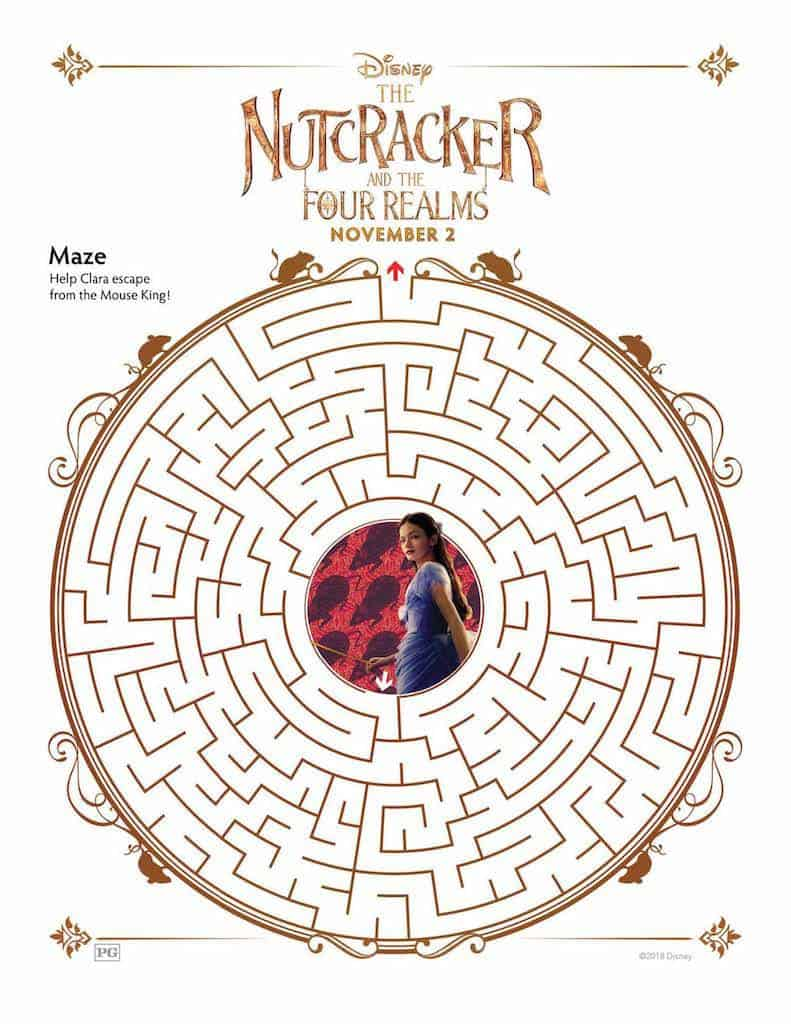 The Nutcracker Free Printable Activity Sheets: 15 Pages