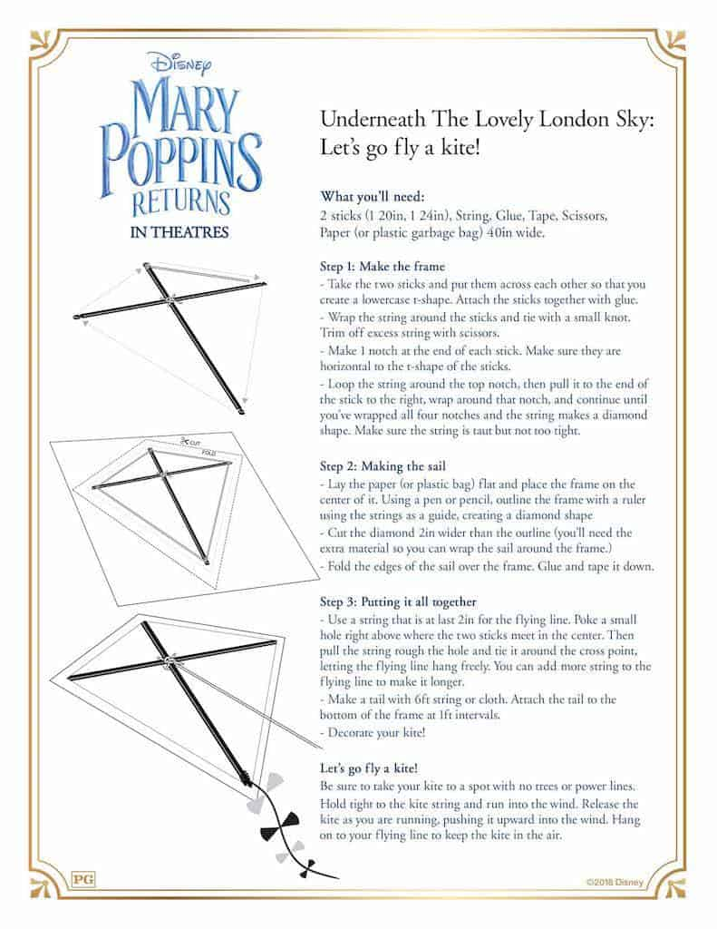 13 Mary Poppins Returns Free Printable