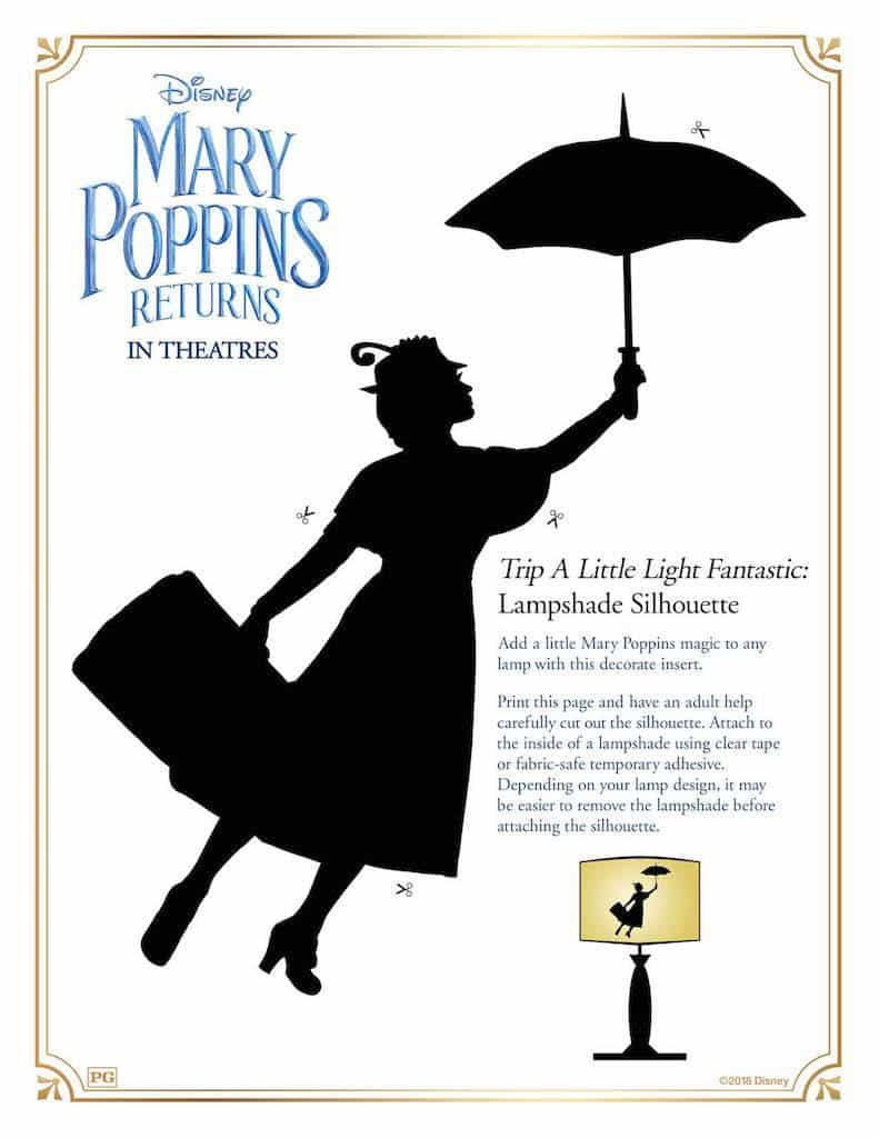 13 Mary Poppins Returns Free Printable Activity Sheets