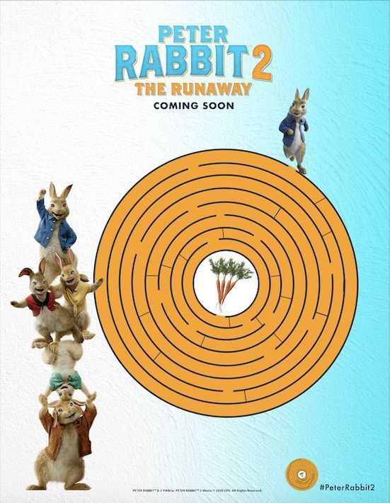 Peter Rabbit Easter Free Printable In PDF