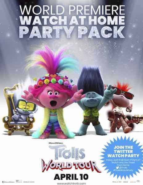 Trolls Free Printable Party Ideas in PDF